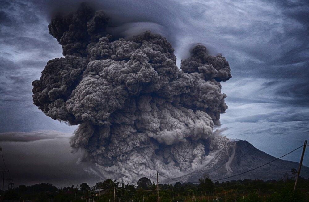 Kui palju süsihappegaasi paiskavad atmosfääri vulkaanid
