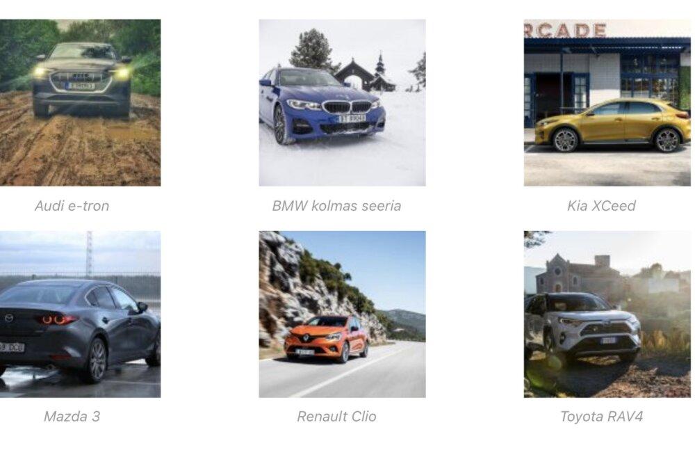 Eesti aasta auto 2020 esikuuik on selgunud: üllatusi on rohkem kui üks