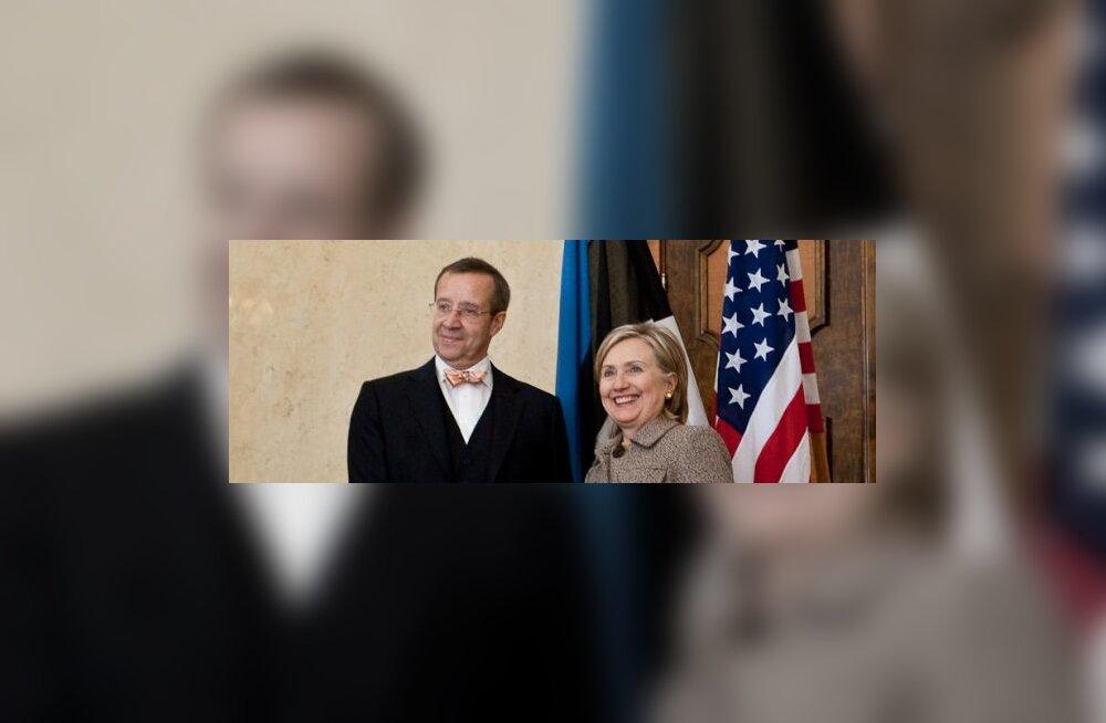 Hillary Clintoni visiit Kadriorgu