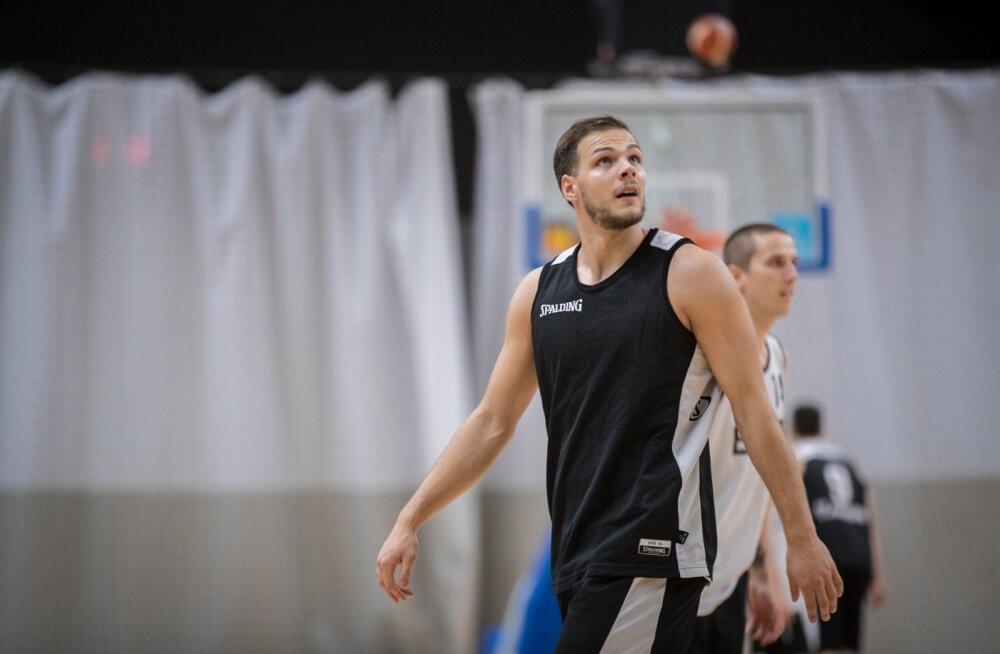 Eesti korvpallikoondise esimene trenn