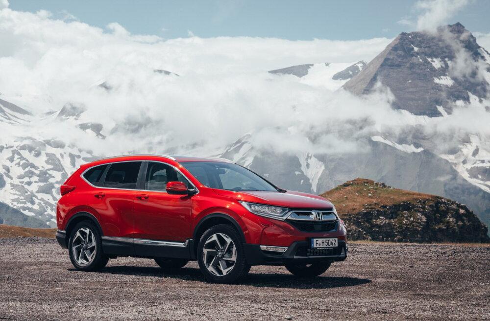 Proovisõit: Honda CR-V, nüüd ka seitsmekohalisena ja hübriidajamiga