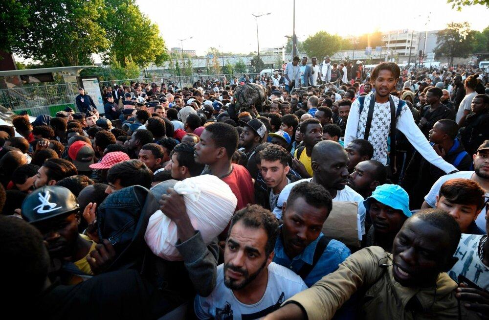Pariisi põgenikelaager