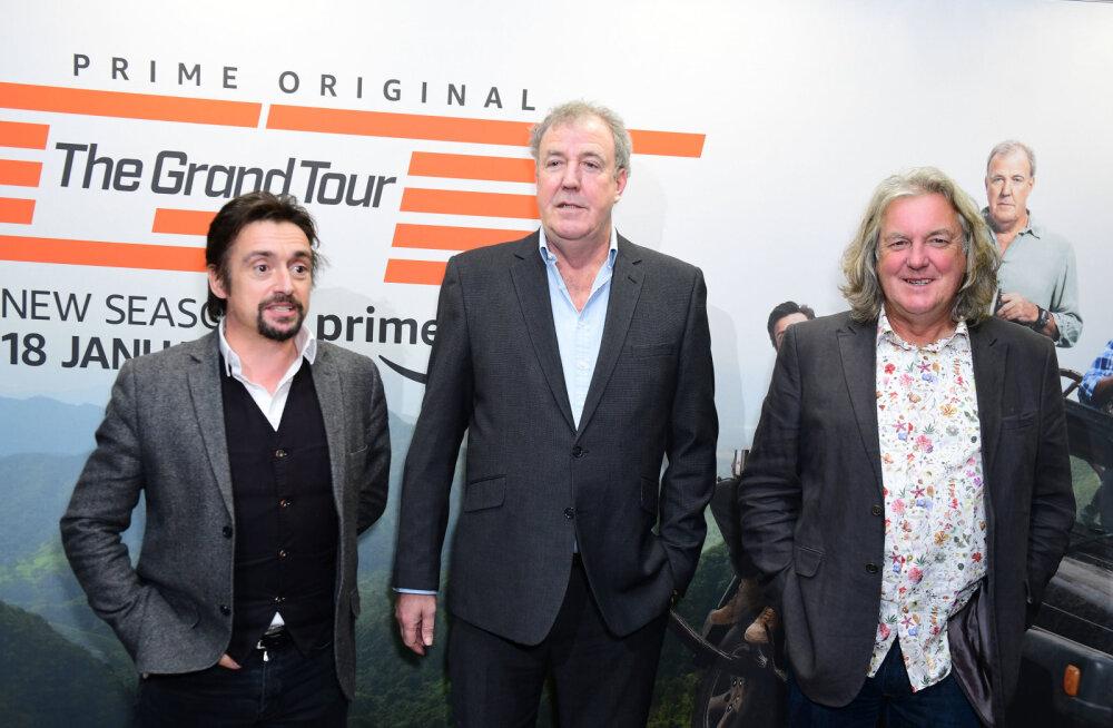 """Võimas! """"The Grand Tour"""" toob kolmikule kümnetes miljonites kasumit"""