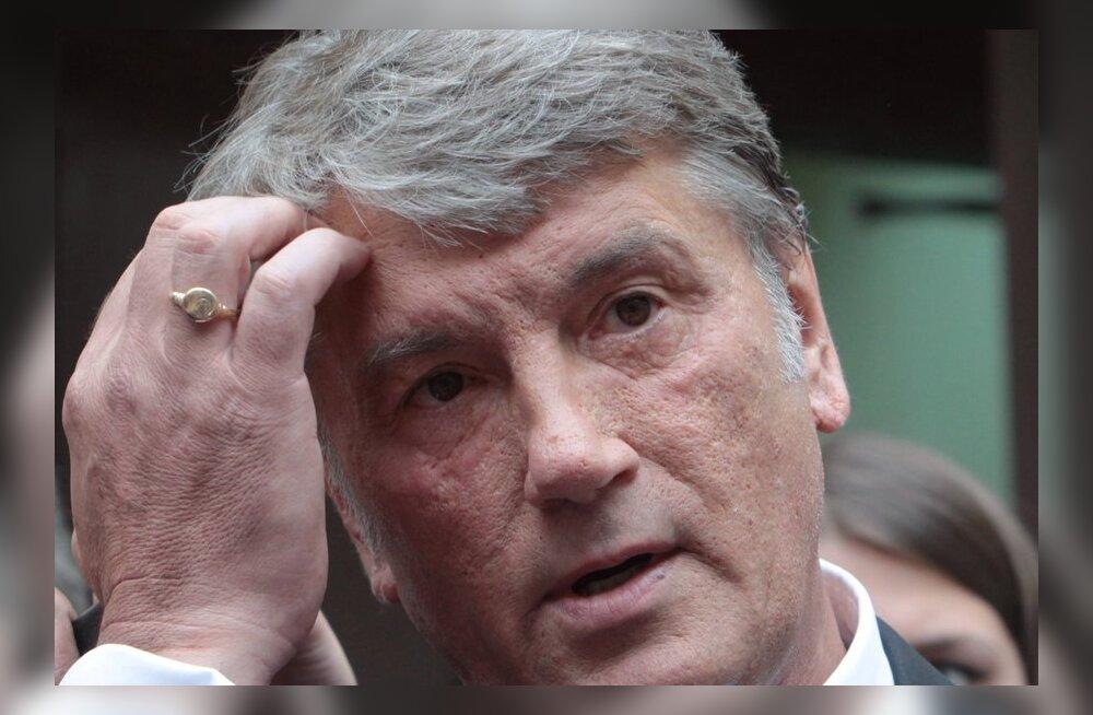 Juštšenko: Euroopa Liit seadis Ukrainale ebaadekvaatseid tingimusi