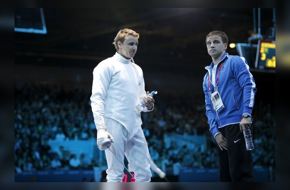 Nikolai Novosjolov ja Marno Allika
