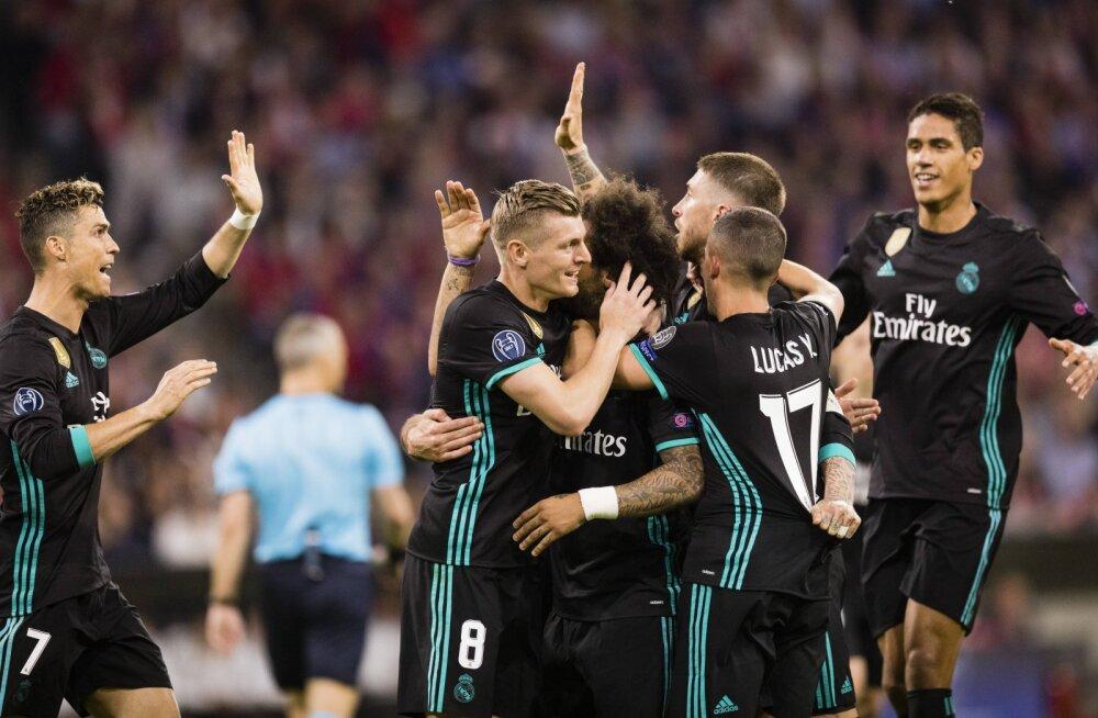 Madridi Reali mehed juubeldavad