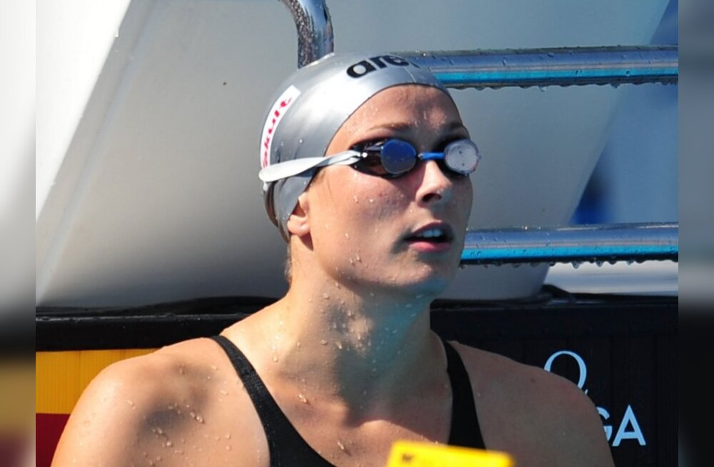 Triin Aljand jäi MM-il 50 meetri liblikujumises finaalist välja