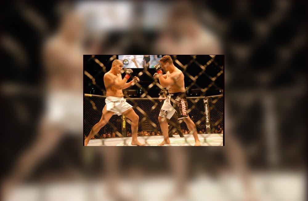 MMA võitlus