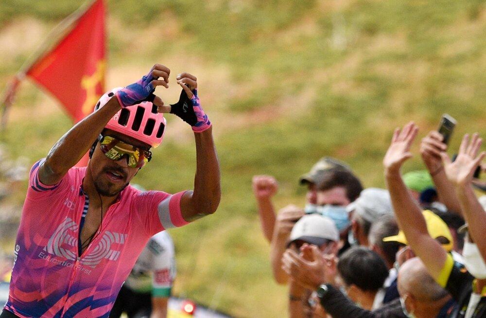 VIDEO   Tour de France: Roglic kindlustas liidrikohta, raskeima etapi võitis Martinez