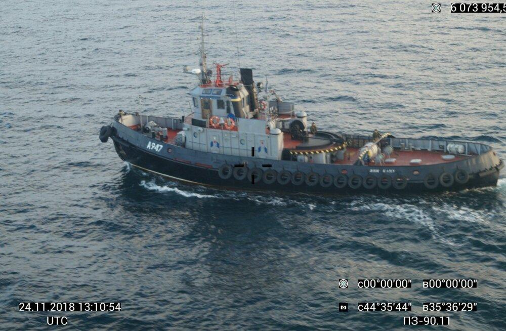 FSB: Ukraina meremehi ei saa pidada sõjavangideks, sest me ei pea sõda