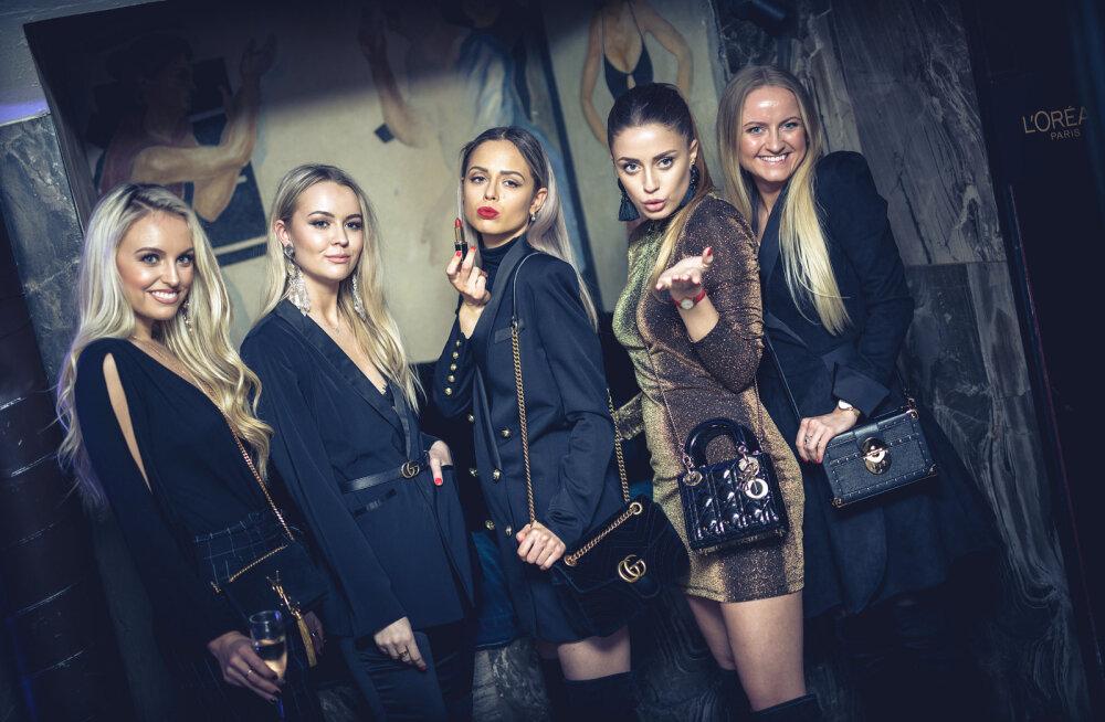 GALERII   Eesti kaunitarid uudistasid glamuursel peol L'Oréal Paris ja Balmaini moemaja eksklusiivset huulepulgakollektsiooni