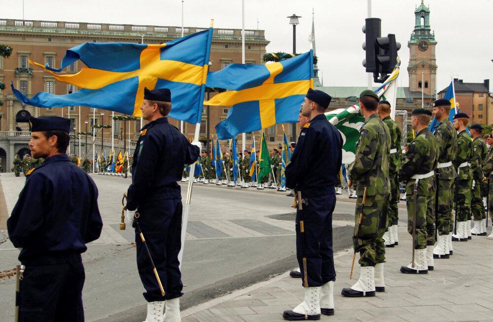 Rootsi kasvatab kaitsekulutusi ja suurendab armeed