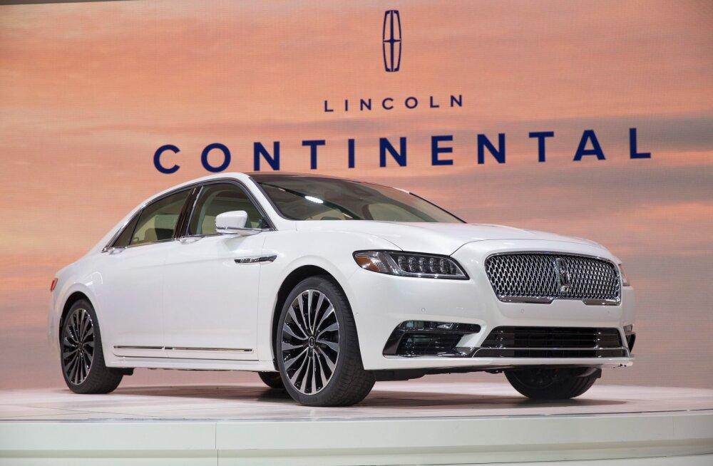 Ford võib hakata tootma Lincolne Hiinas