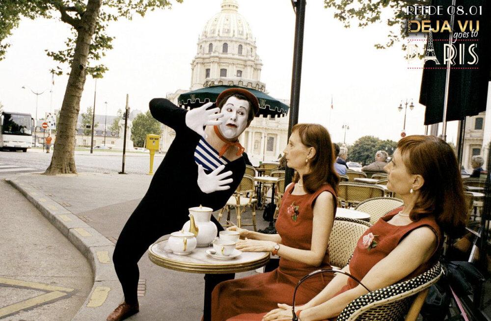 Lounge Deja Vu viib külastajad üheks ööks Pariisi romantilistele radadele