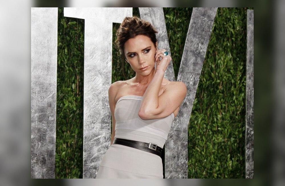 FOTOD: Kondine Victoria Beckham poseerib Harper`s Bazaari esikaanel