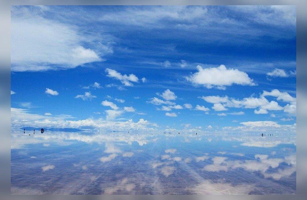 Чудо декабря: Необычайное зеркало мира в Боливии