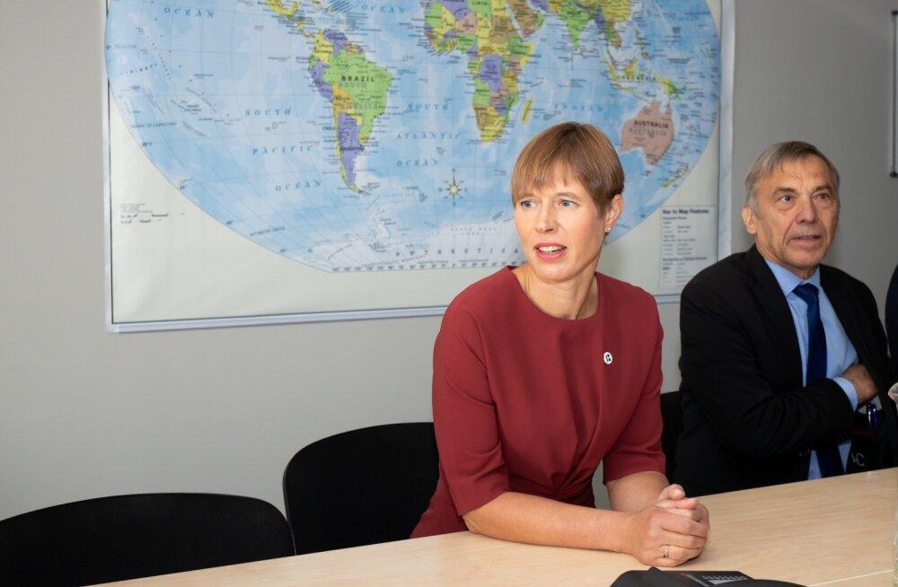 President Kaljulaidi teine päev Narvas
