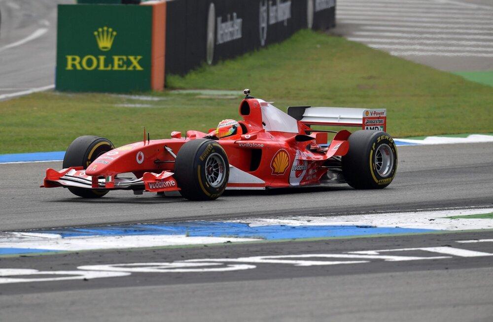 VIDEO | Maagiline hetk: Mick Schumacher istus Hockenheimis isa legendaarse sõiduvahendi rooli