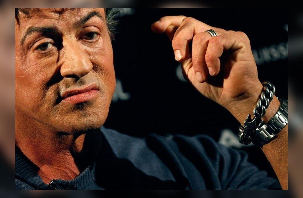 Sylvester Stallone leinab oma isa