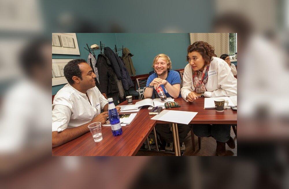 Algasid kohanemisprogrammi koolitused uussisserändajatele, kõige populaarsem on keeleõpe
