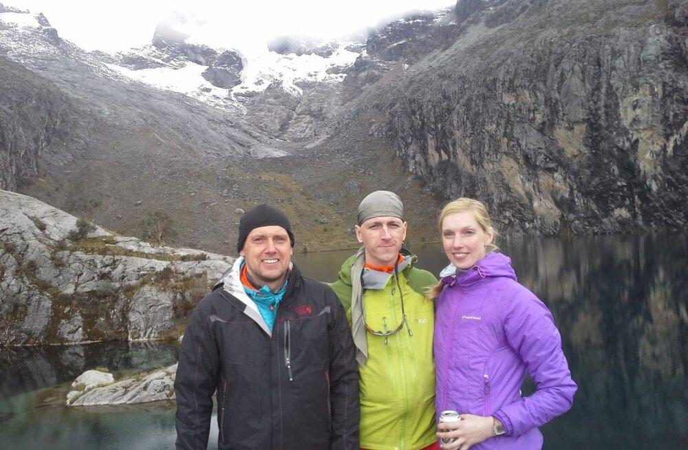 Peruus hukkunud eesti alpinistid olid ülikogenud mägironijad