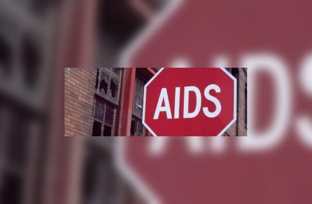 Aidsi ja narkomaania risk jõudis 90ndate tasemele