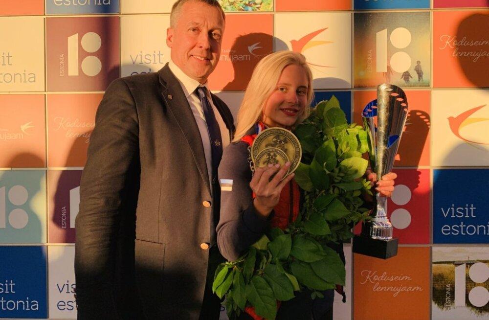 Ergo Metsla ja Karina Polovnikova