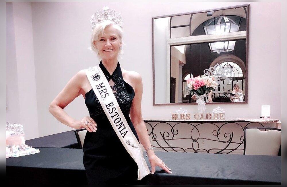 FOTOD | Eesti ärinaine jõudis Mrs Globe Classique 2019 finaalis 15 parima hulka!