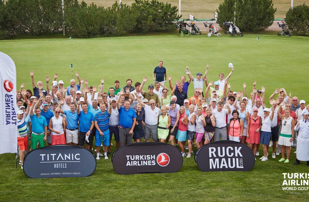 Tallinnas toimus kolmas Turkish Airlines World Golf Cup