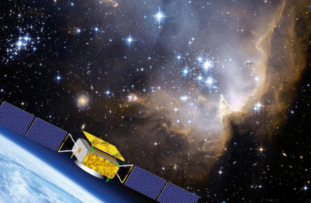 Hiina tehiskaaslane märkas tumeainele viitavaid märke