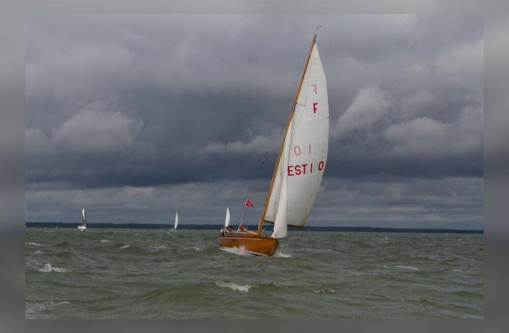 Muhu Väina Regatt, purjetamine