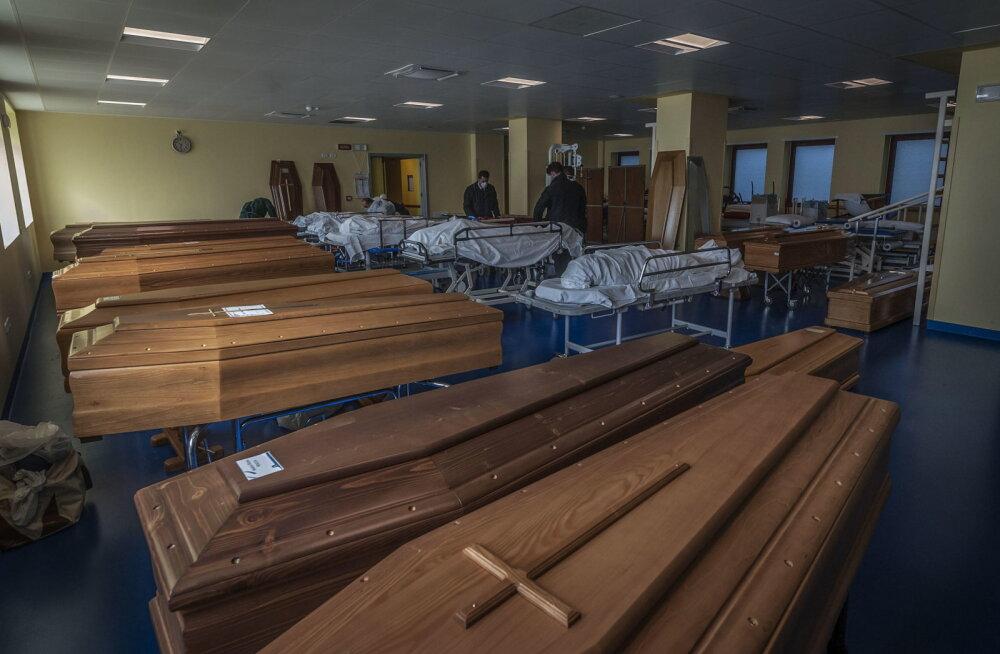 Itaalia uuring: 99% koroonaviirusesse surnutest põdes ka muid haigusi