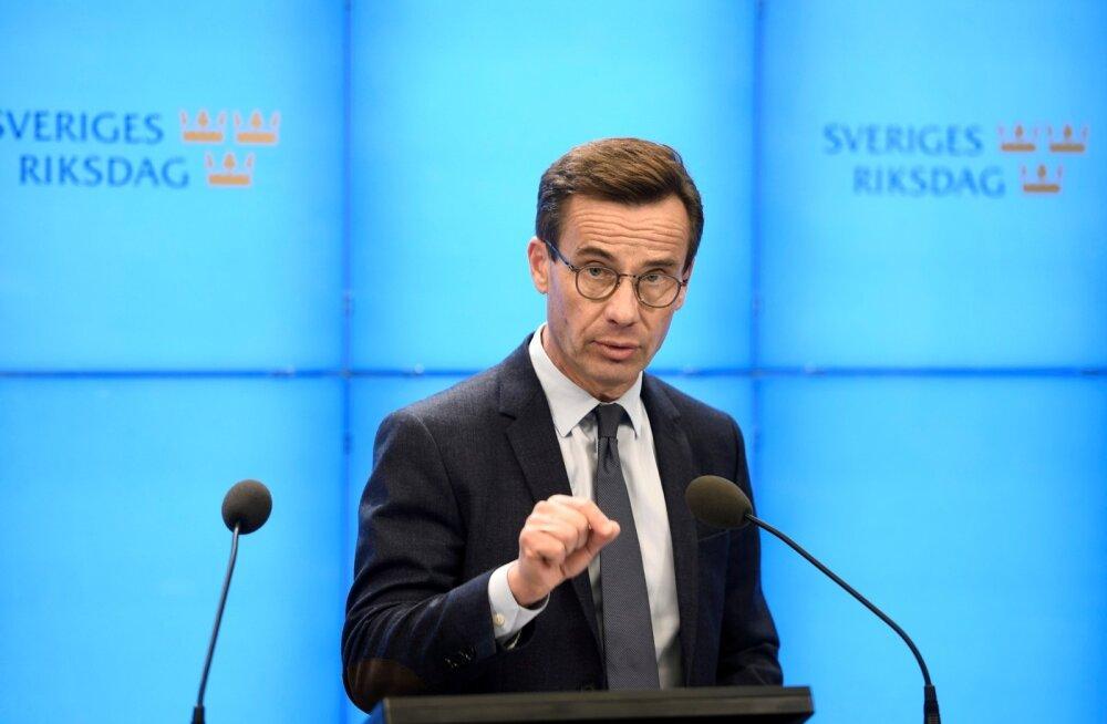 Rootsi mõõdukate esimees Kristersson üritab uuesti valitsuse moodustamist koos kristlike demokraatidega