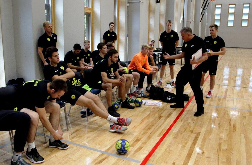 Eesti klubidel oli käsipalli Balti liigas must päev