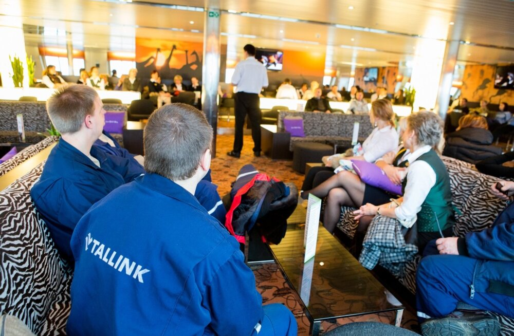 Tallink hoiatusstreik