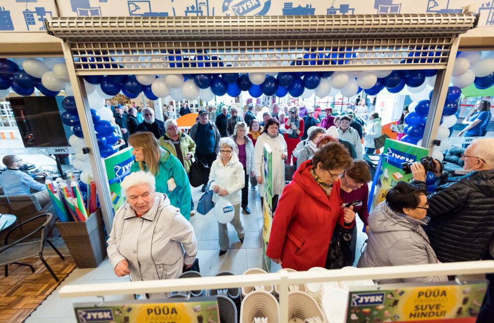 Jysk avas sisustuspoe Haapsalu uues kaubanduskeskuses