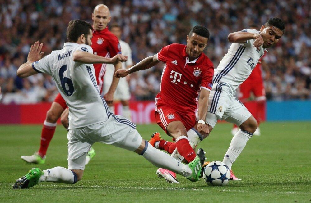 Meistrite liiga veerandfinaal Madridi Real - Müncheni Bayern