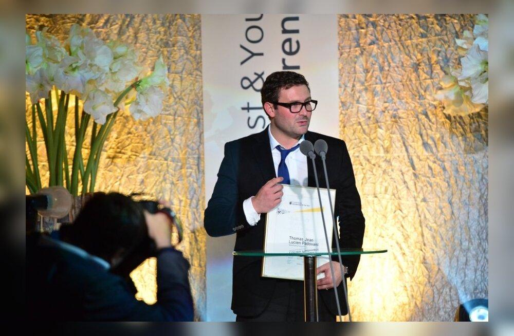 Thomas Padovani aasta ettevõtja 2013 galal.