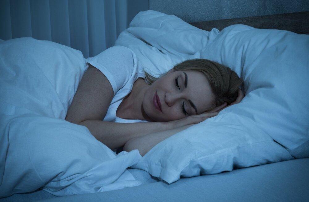 Magamistuba peab olema pime, jahe ja vaikne ning voodi, madrats, tekk ja padi valitud inimese eripärade järgi.