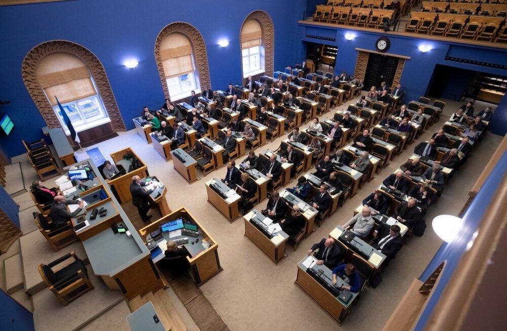 Koalitsioon sõitis riigikogus opositsioonist üle: ühtegi riigieelarve muudatusettepanekut ei toetatud