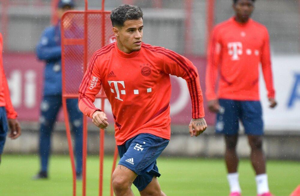 Bayerniga liitunud Coutinho: Barcelonas juhtunu on ajalugu