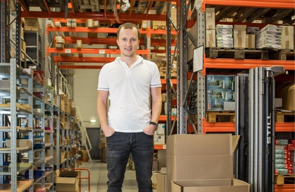 Kristjan Hiiemaal on ambitsiooni küllaga. Ta loodab oma firmaga saada Euroopa Amazoniks.