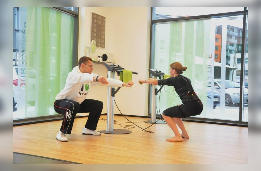 Imeseade treenib automaatselt kõiki lihasgruppe elektri-impulsside abil