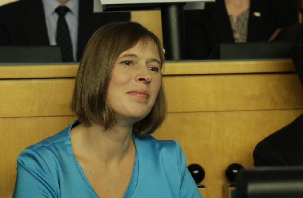 Керсти Кальюлайд на пресс-конференции: сегодня выиграла вся Эстония