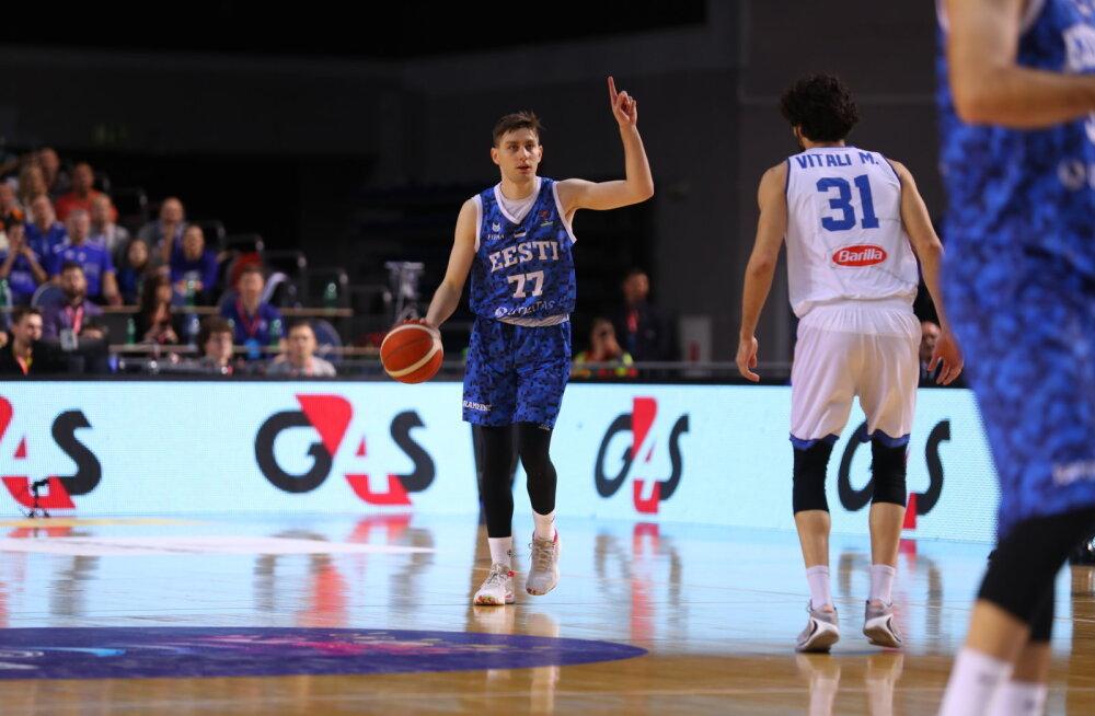 Kristian Kullamäe kommenteerib Põhja-Makedooniaga mängu, kus ta viskas 31 punkti