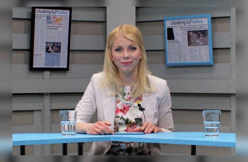 """Tudeng TV uue saate """"Fookus"""" saatejuht Marian Võsumets."""