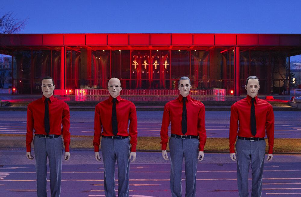 Legendaarne Kraftwerk annab veebruaris Tallinnas võimsa 3D kontserdi