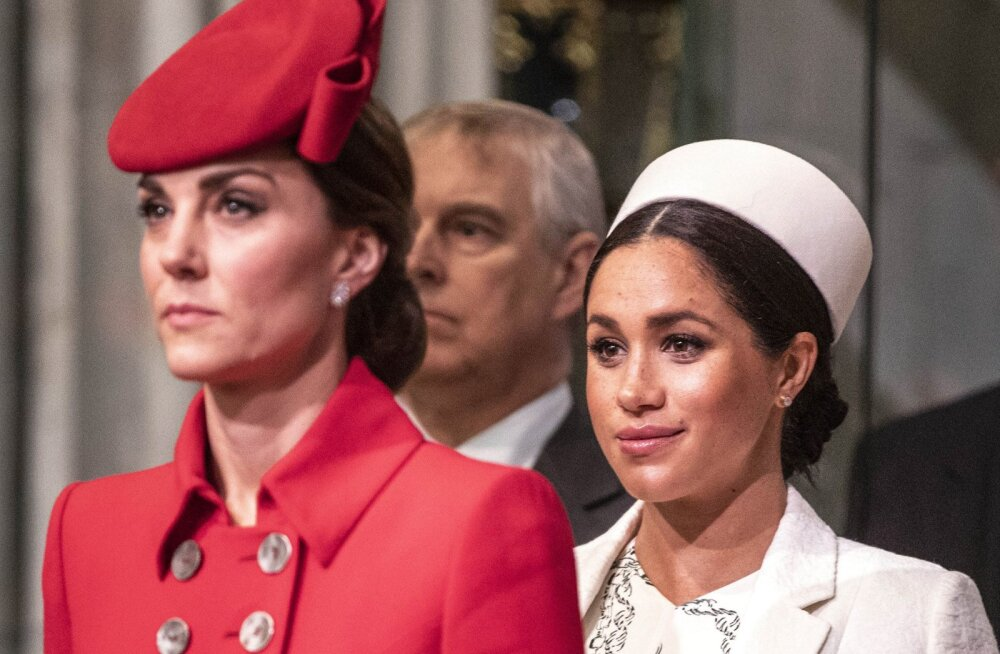 Meghan Markle'i ja hertsoginna Catherine'i suhtlus taas karidel: see on kui löök näkku