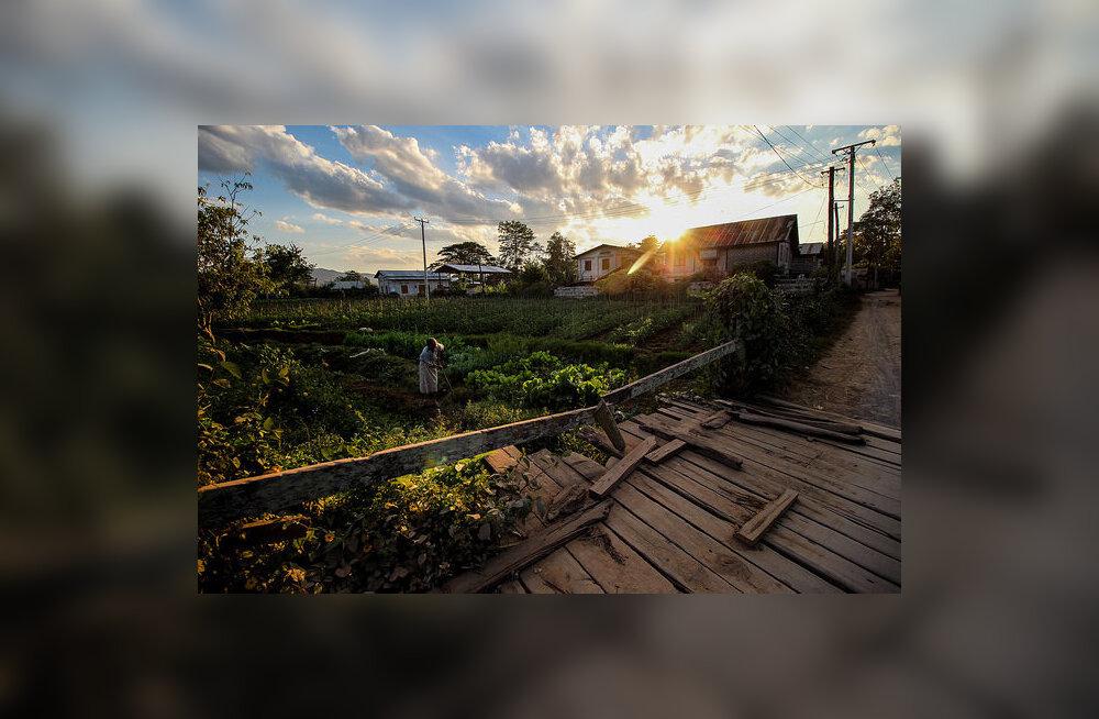 Koroona tõmbas jalad alt eestlaste päikeseprojektil Birmas