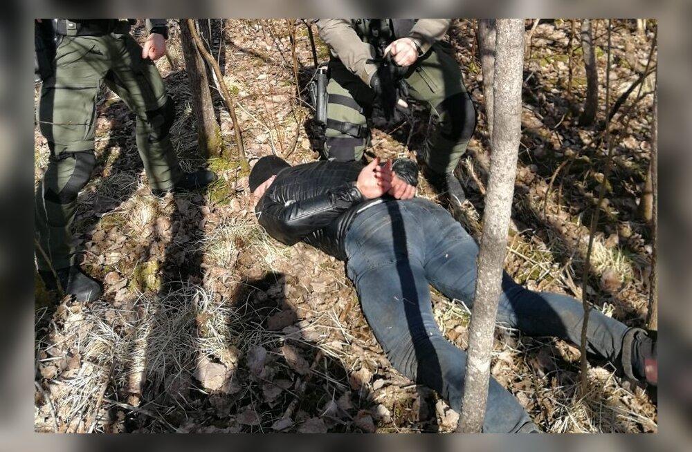Politseinikud tabasid sissemurdmistes kahtlustatavad mehed.